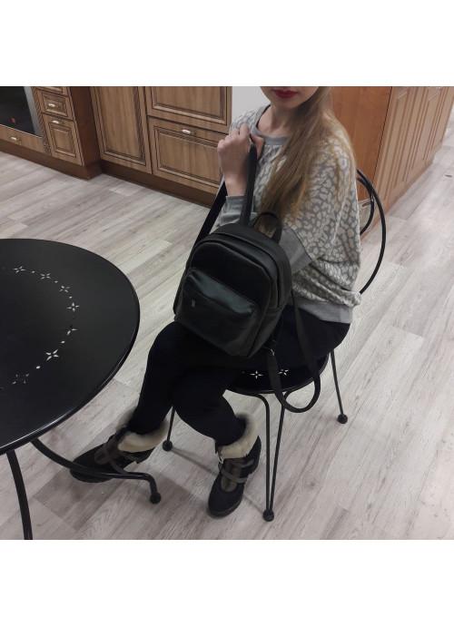 Жіночий рюкзак Sambag Brix SSH black