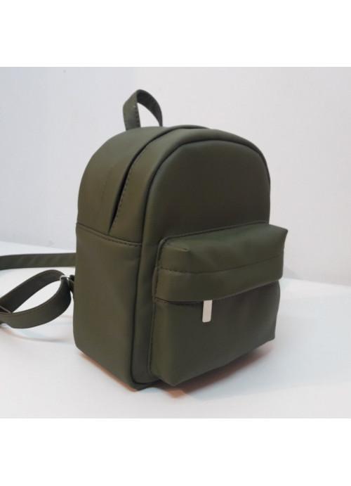 Жіночий рюкзак Sambag Brix SSH зелений хакі