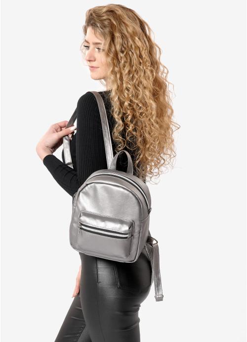 Жіночий рюкзак Sambag Brix SSSP silver dark