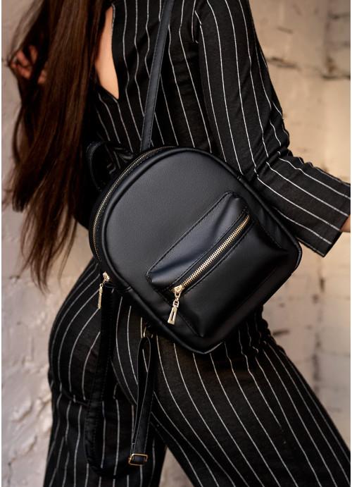 Жіночий рюкзак Sambag Brix SSG чорний