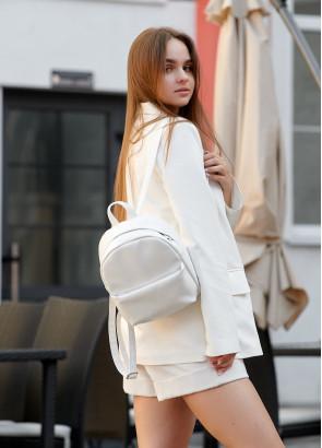 Жіночий рюкзак Sambag Brix SQH білий