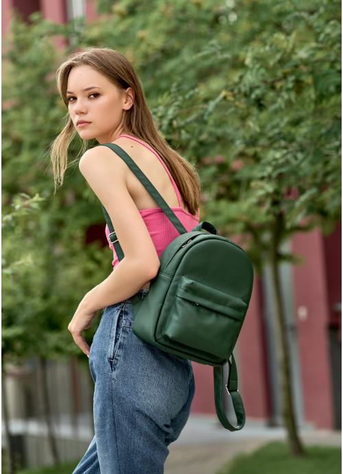 Жіночий рюкзак Sambag Brix KSH зелений