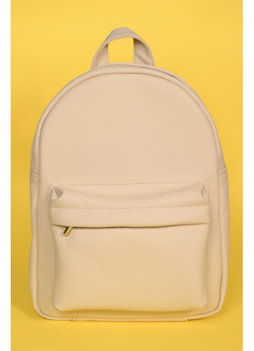 Жіночий рюкзак Sambag Brix KSH молочний матовий