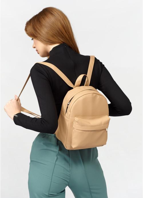 Жіночий рюкзак Sambag Brix KSH бежевий