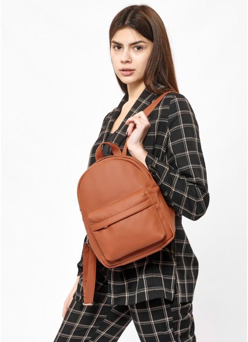 Жіночий рюкзак Sambag Brix KSH коричневий