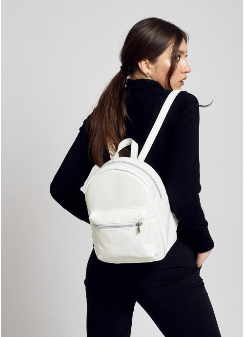 Жіночий рюкзак Sambag Brix KSO білий