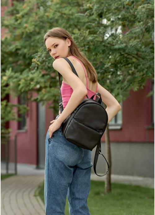 Жіночий рюкзак Sambag Brix KQH чорний