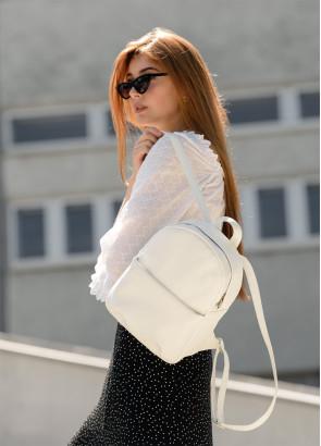 Жіночий рюкзак Sambag Brix KQH білий