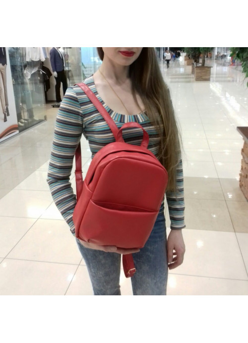Жіночий рюкзак Sambag Este MB червоний