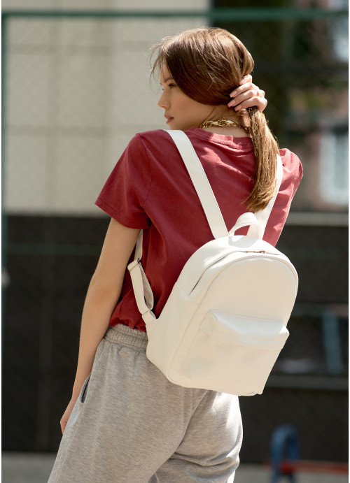 Жіночий рюкзак Sambag Brix BB білий