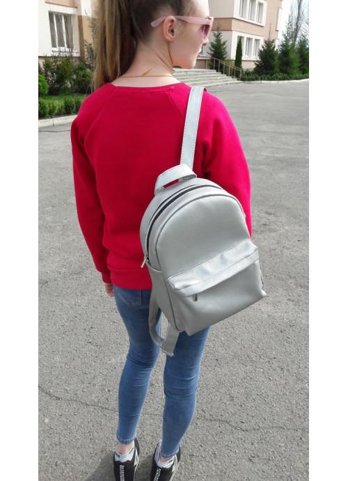 Жіночий рюкзак Sambag Brix MSSP срібний