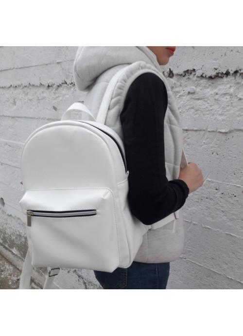 Жіночий рюкзак Sambag Brix MSSkP білий