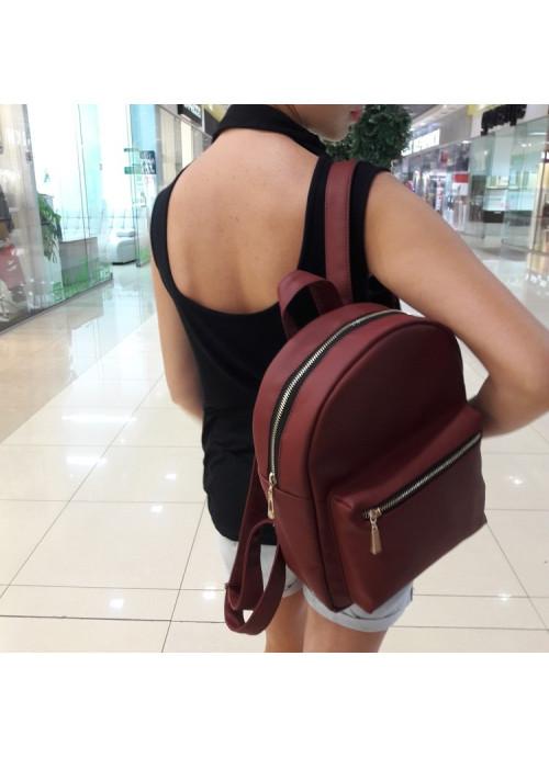 Жіночий рюкзак Sambag Brix MSG бордо