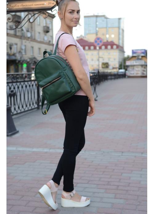 Жіночий рюкзак Sambag Brix MSG зелений