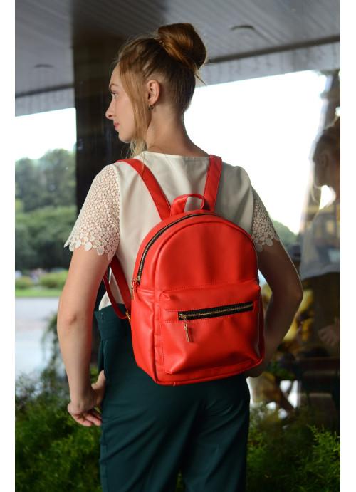 Жіночий рюкзак Sambag Brix MSG червоний