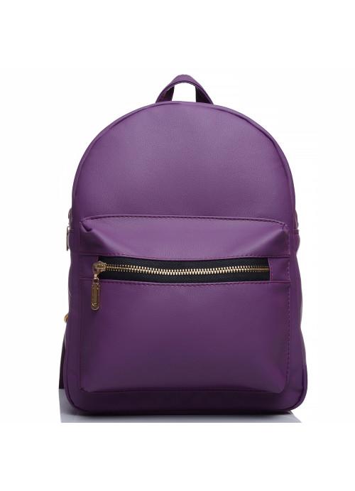 Жіночий рюкзак Sambag Brix MSG фіолетовий
