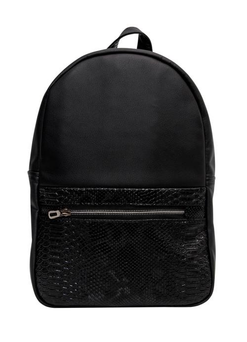 Жіночий рюкзак Sambag Brix MSS зміїний принт