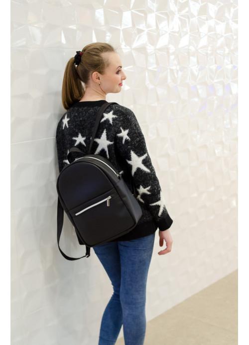 Жіночий рюкзак Sambag Brix MPSP чорний