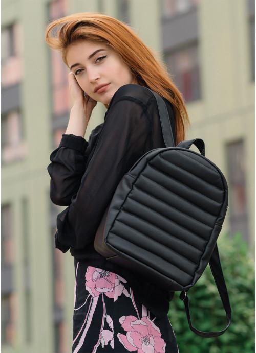 Жіночий рюкзак Sambag Brix MRN black
