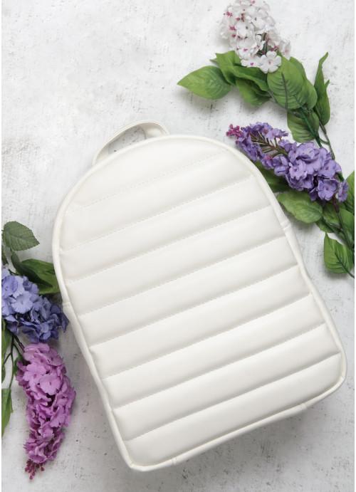 Рюкзак Sambag Fol BRN білий