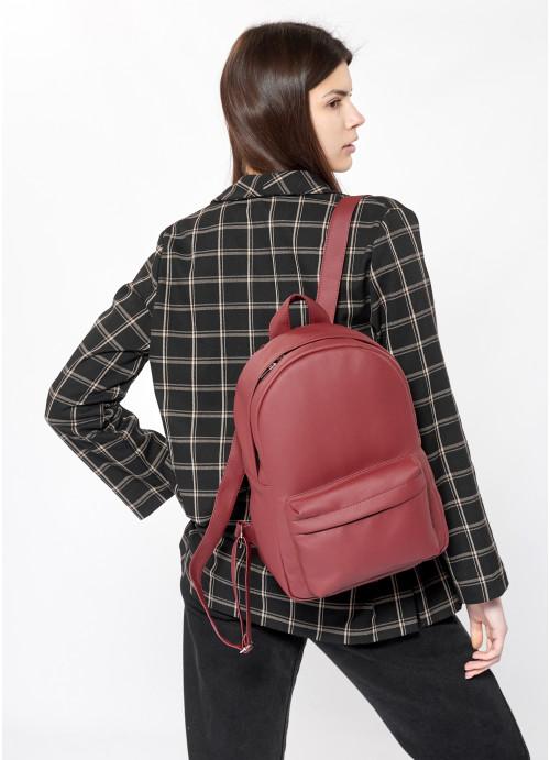 Жіночий рюкзак Sambag Brix LB бордо