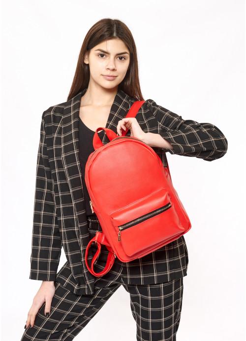 Жіночий рюкзак Sambag Brix RSG червоний