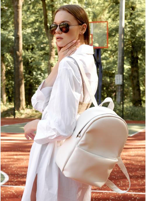 Жіночий рюкзак Sambag Brix RQH білий