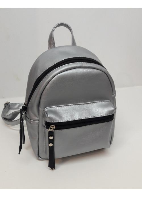 Жіночий Рюкзак Sambag Talari SSB срібний