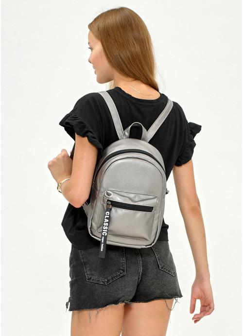 Жіночий Рюкзак Sambag Talari MST silver dark
