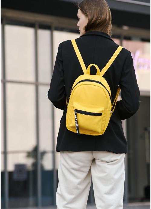 Жіночий Рюкзак Sambag Talari MST жовтий