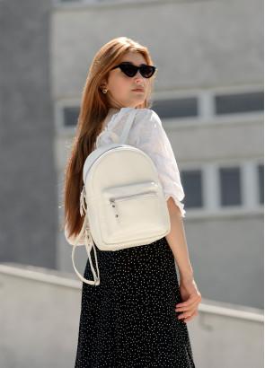 Жіночий Рюкзак Sambag Talari MSO білий