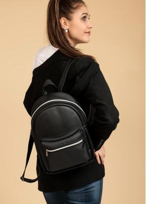 Жіночий місткий Рюкзак Sambag Talari BSSP чорний