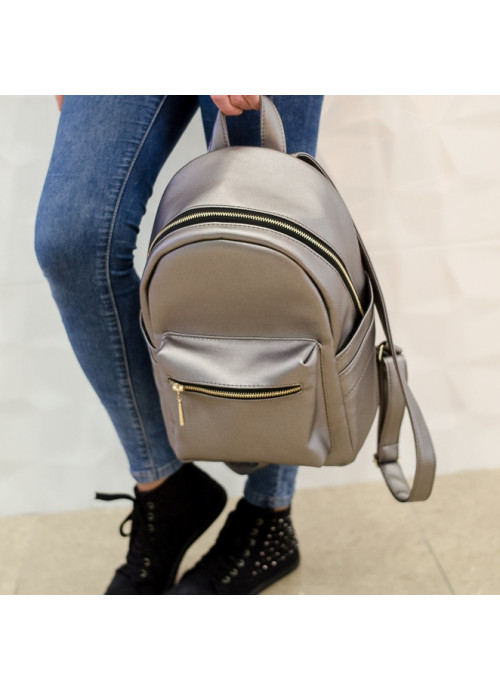 Жіночий рюкзак Sambag Dali BSG silver dark