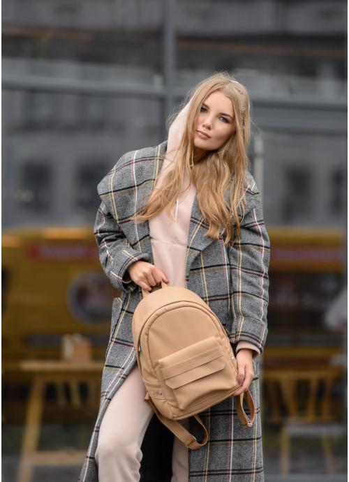 Жіночий рюкзак Sambag Dali BKH бежевий