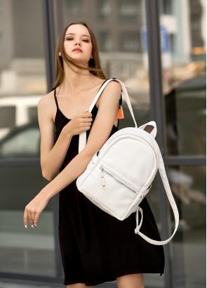 Жіночий рюкзак Sambag Dali BPO білий