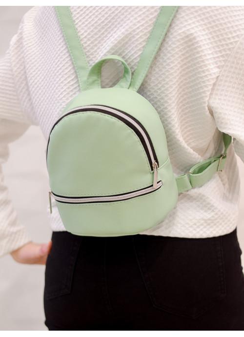 Маленький дівочий рюкзак Sambag Mane SSSP м'ята