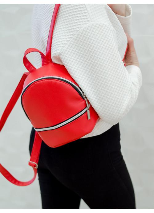 Маленький дівочий рюкзак Sambag Mane SSSP червоний