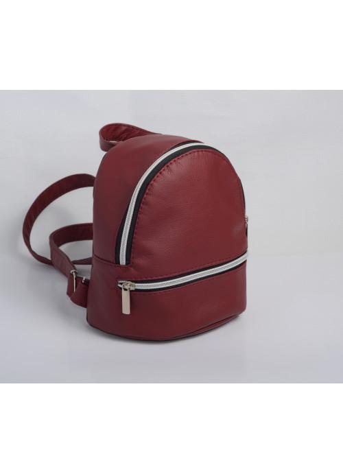 Маленький дівочий рюкзак Sambag Mane SSG бордо