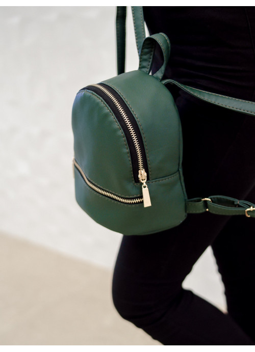 Маленький дівочий рюкзак Sambag Mane SSG зелений