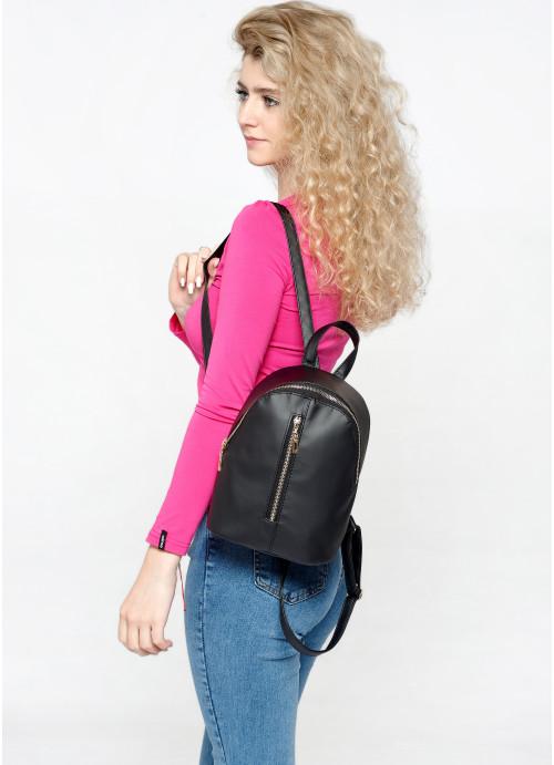 Жіночий рюкзак малий Sambag Mane MQG чорний