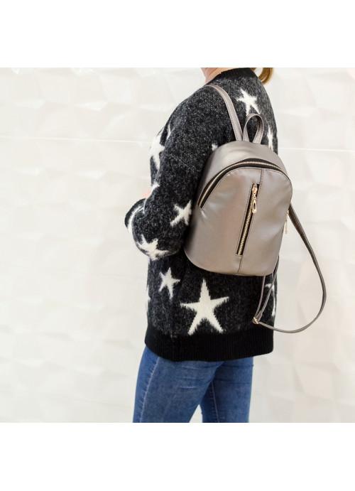 Жіночий рюкзак Sambag Mane SF silver dark