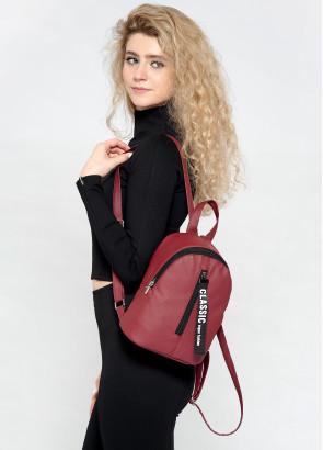 Рюкзак малий Sambag Mane MQT бордо