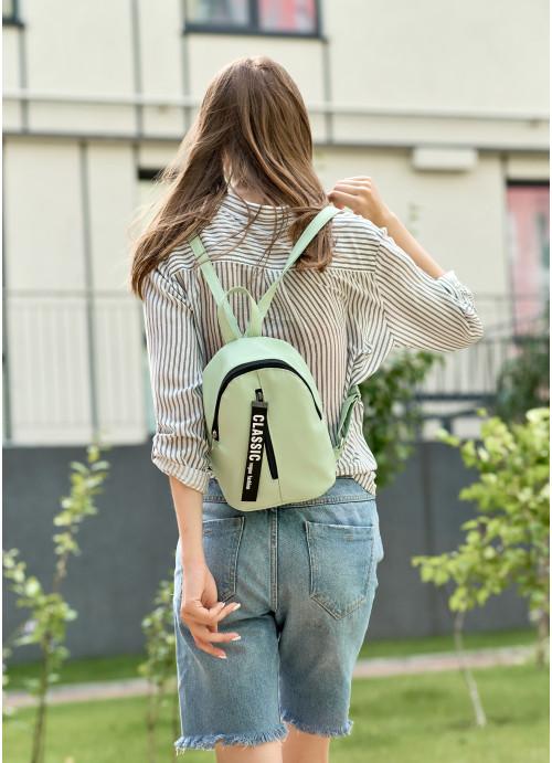 Жіночий рюкзак малий Sambag Mane MQT м'ята