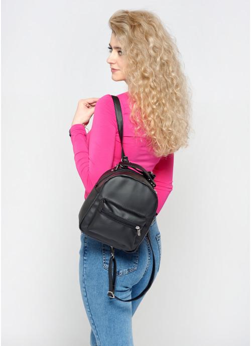 Жіночий рюкзак Sambag Asti SSB чорний