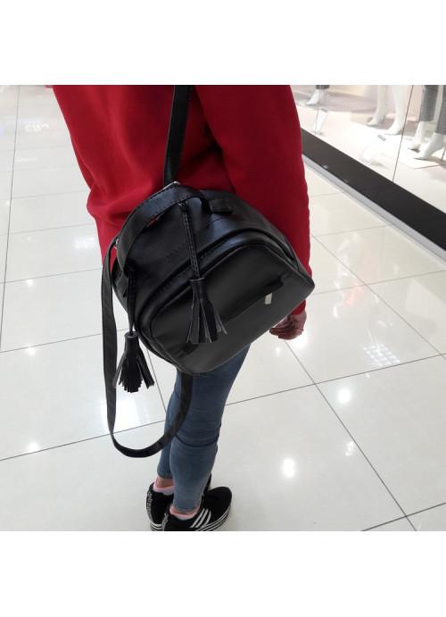 Жіночий рюкзак Sambag Asti SPH black