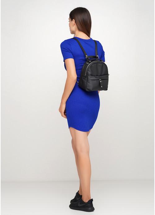 Жіночий рюкзак Sambag Asti MSH чорний