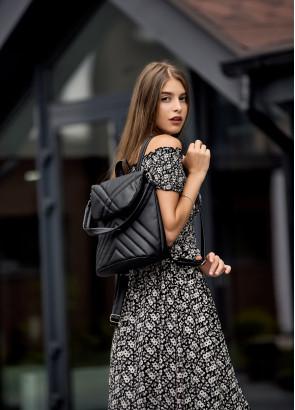 Жіночий рюкзак Sambag Loft QSH чорний