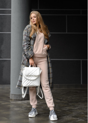 Жіночий рюкзак Sambag Loft QSH білий