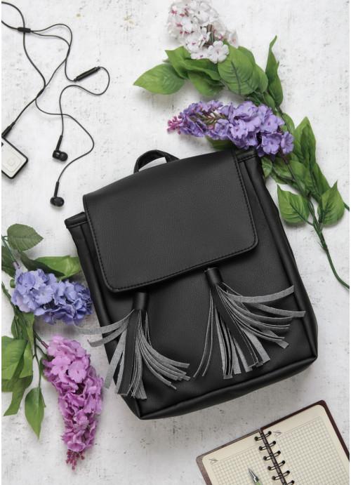 Жіночий рюкзак Sambag Loft SZNe чорний
