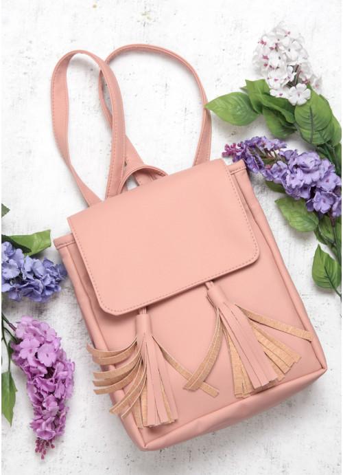 Жіночий рюкзак Sambag Loft SZNe пудра